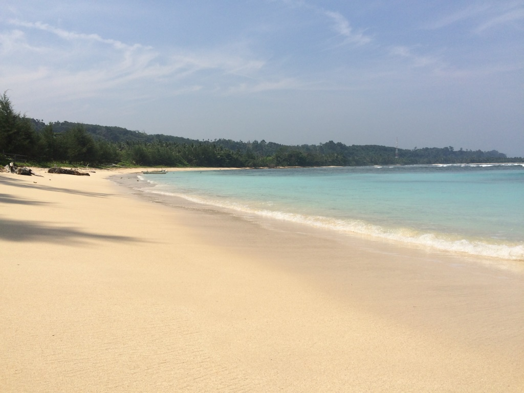 Kaur Punya Keindahan Panorama Wisata Pantai Laguna - CTZone Dehasen